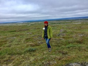 Tundra, as far as you can see ...