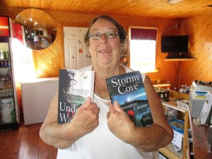 Jennifer from Massachusetts bought three of my books!