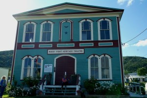 The theatre in Woody Point where most of the readings take place.