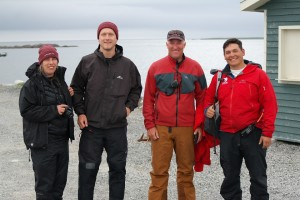 Some of the lucky ones who were part of this adventure.
